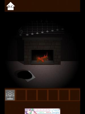 バッハの部屋 脱出 (3)
