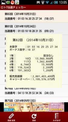 ロト当選番号 (4)