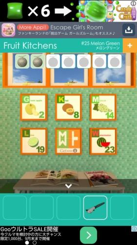 フルーツキッチン 25 メロングリーン (10)
