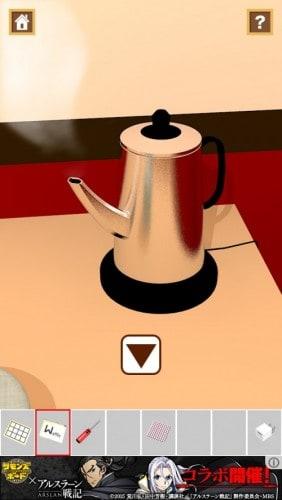 脱出ゲーム Teatime 002
