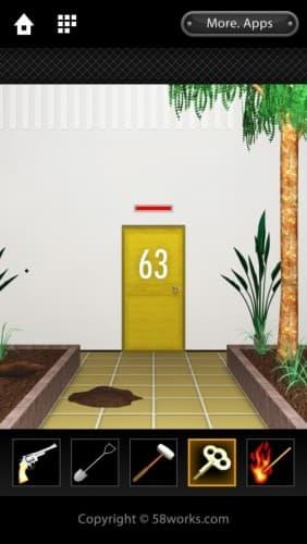 脱出ゲーム DOOORS 018