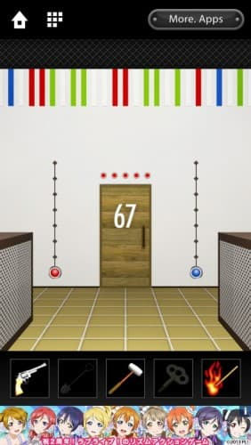 脱出ゲーム DOOORS 038
