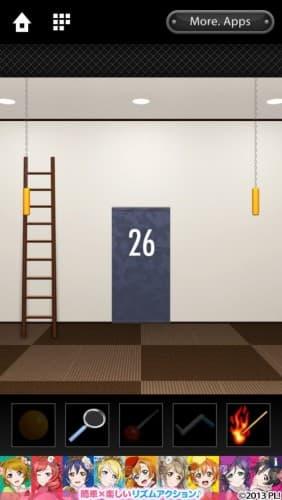 脱出ゲーム DOOORS 121