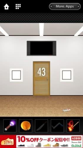 脱出ゲーム DOOORS 012
