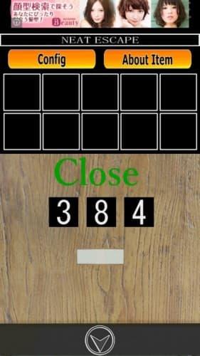 脱出ゲーム コインロッカー 009