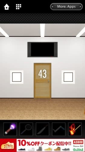 脱出ゲーム DOOORS 010