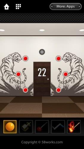 脱出ゲーム DOOORS 096