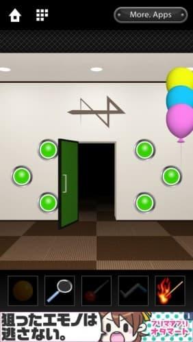 脱出ゲーム DOOORS 133