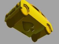 黄色ミニカー