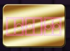 金色のプレート