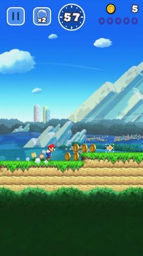 【スーパーマリオラン】マリオがスマホにやってきた!片手で遊べる新しいマリオを楽しもう!
