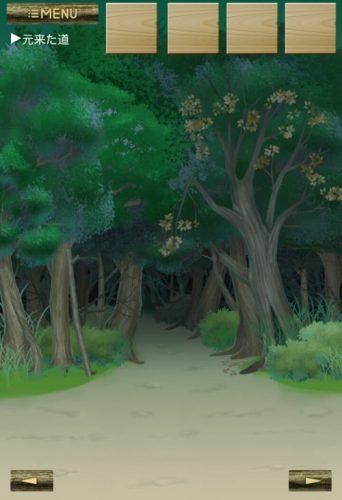 迷いの森からの脱出 攻略 Stage 3