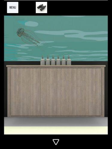 Ocean View 攻略 その5(懐中電灯入手~地下の水槽確認まで)