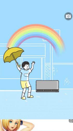 ドッキリ神回避 攻略 ステージ1 雨回避
