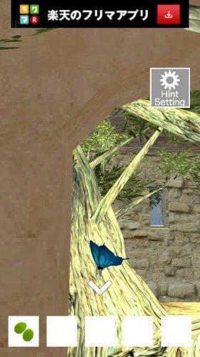 オリーブルームからの脱出 攻略 その1(蝶確認~フロアライトの謎まで)