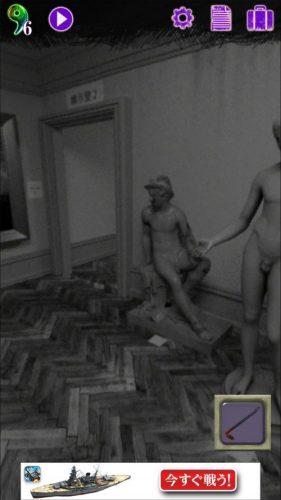 美術館からの脱出 プレイルーム 攻略 その5(釘抜き入手~磔(はりつけ)の絵入手まで)
