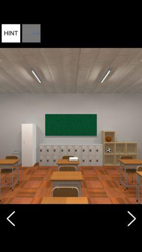 入学式後の教室から脱出 攻略 その1(柵の色の謎まで)
