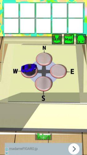大きな部屋と小さな私2 攻略 STAGE6 その1(小さくなる~キッチンのカード入手まで)