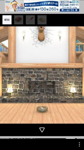 Log House 攻略 その2(ロフトのクッション確認~四角いブロック入手まで)