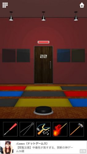 DOOORS 5 (ドアーズ5) 攻略 ステージ22