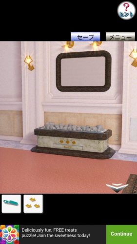 Hotel The Cat スイートルームから脱出 攻略 その6(電源ケーブル入手~寝室の棚の謎まで)