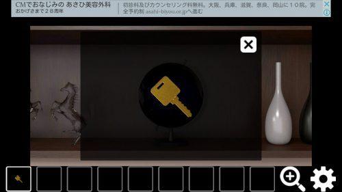 EXITs2 攻略 Room4 その1(数字のオブジェ確認~棒入手まで)
