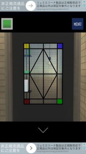 ガラス工房 綺麗なガラスが並ぶ工房からの脱出 攻略 その3(ガラス板入手~コルク抜き入手まで)