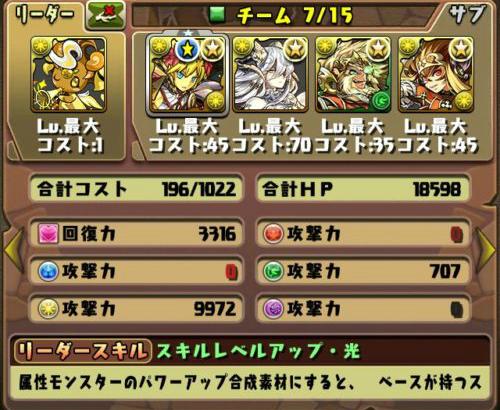 ドット・ライトニング テンプレパーティー おすすめ編成徹底解説!