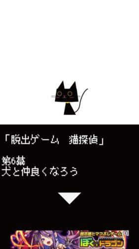 猫探偵の憂鬱 攻略 第6幕