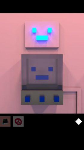 HEISA ROOM 攻略 その1(青いブロックをはめるまで)