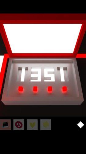 HEISA ROOM 攻略 その5(4つ目の部屋に移動~箱の数字の謎まで)