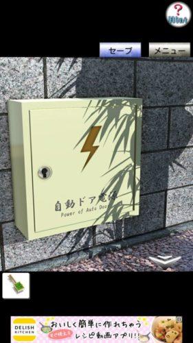和菓子屋からの脱出 攻略 その1(電源ボックスのカギ入手~箪笥のカギ入手まで)