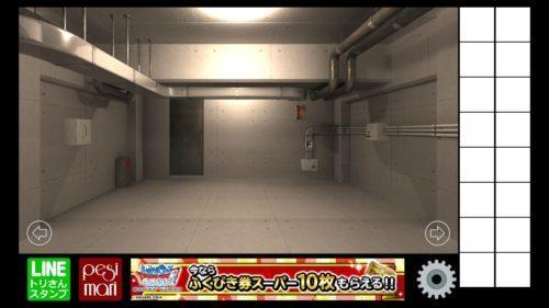 地下室からの脱出 攻略 その1(部品入手~パイプの本数確認まで)