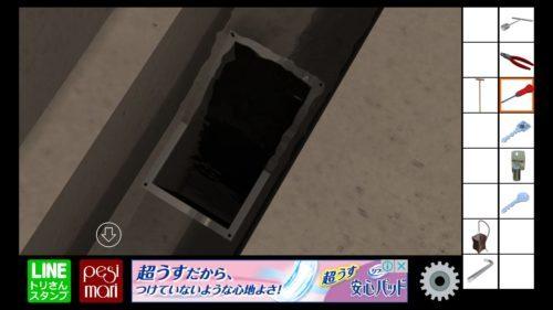 地下室からの脱出 攻略 その5(ドライバー入手~ノーマルエンド)