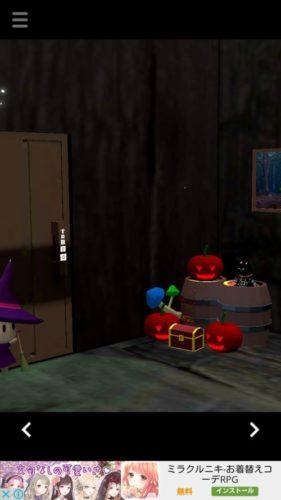 スプーキーハウス 不気味な魔女屋敷からの脱出 攻略 その1(顔の向き確認~ホウキ入手まで)