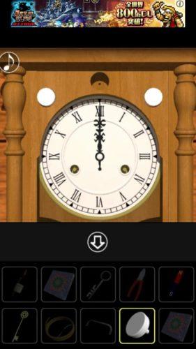 振り子時計の部屋からの脱出 攻略 その8(時計の謎~脱出)