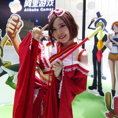 【写真大量36枚】アジア最大級のゲームイベントChinaJoy2017の美女たち!
