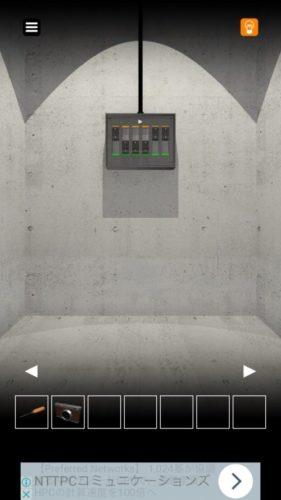 エレベーターからの脱出 攻略 その9