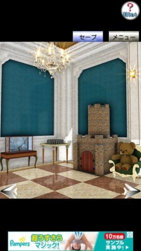 Palace in England イギリスの宮殿からの脱出 その3 攻略
