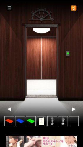 エレベーターからの脱出 攻略 その5