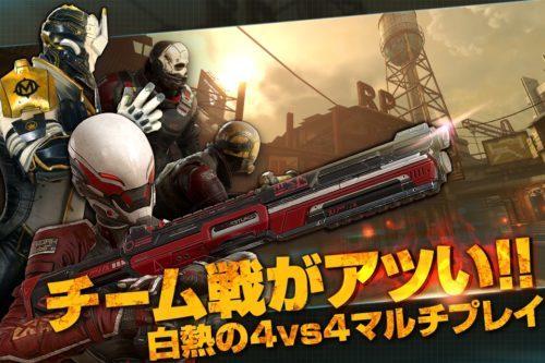 人気ガンシューティングシリーズ最新作『モダンコンバット Versus』が11月8日(水)より事前登録キャンペーン開始!