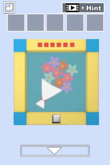 JKルーム 攻略その1(額縁・リンゴの謎~青い5角形を手に入れるまで)