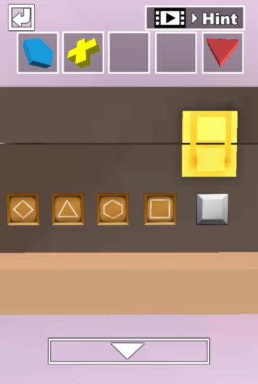 JKルーム 攻略その4(黄色の十字架・緑の四角形・青い鍵の入手方法)