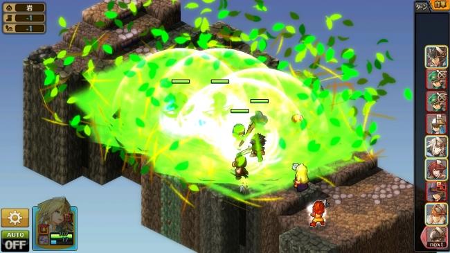 シミュレーションRPG「グラナディアサーガ」配信開始