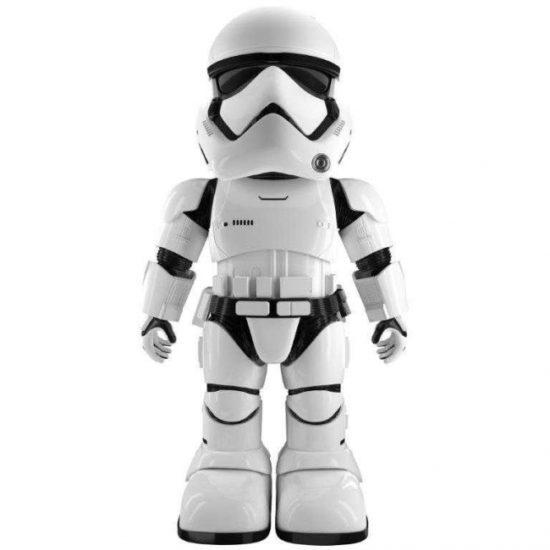 スターウォーズシリーズの人気キャラ、「ファースト・オーダー ストームトルーパー」の二足歩行ロボットが登場!