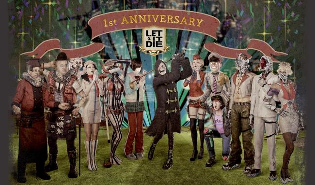LET IT DIE、1周年記念の「LET IT DIE 公式生配信」を実施!