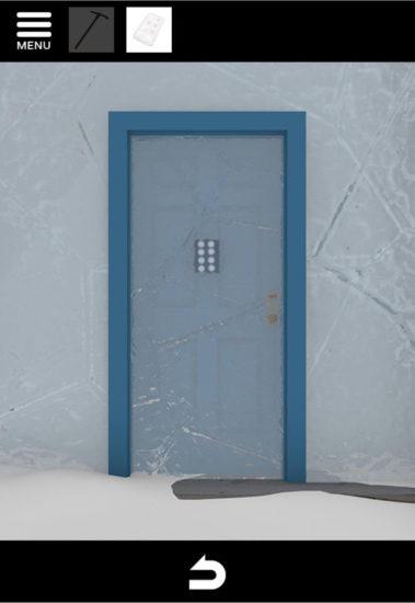 North Pole 攻略9|氷の上のカチコチハウス