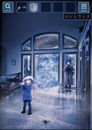 雪の降る街からの脱出 攻略 ステージ4