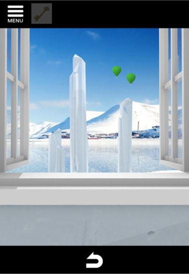 North Pole 攻略2|氷の上のカチコチハウス