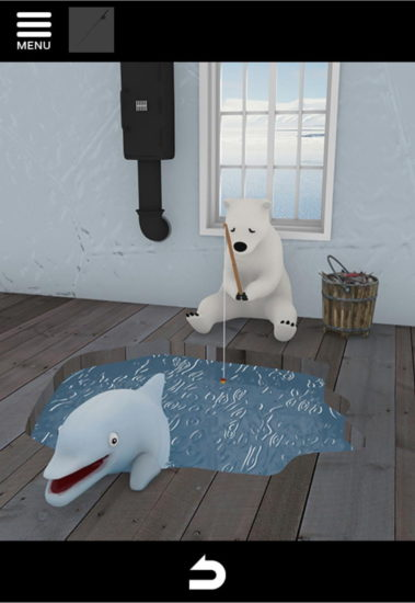 North Pole 攻略5|氷の上のカチコチハウス